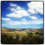 The drive to Wee Jasper from Yass, crossing the Murrumbidgee River is spectacular