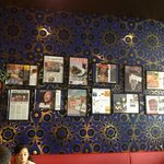 Wall of reviews and awards