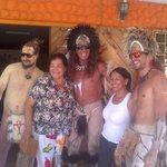 Tia Berta en tapatí 2014