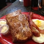 Lava Rock Cafe - The french toast sandwich