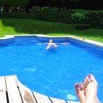Villa 9 pool