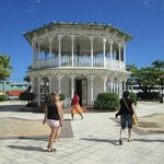 Round Building in Plaza  Puerto Plata City February 2013