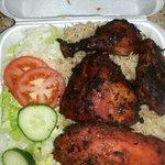 Half Chicken Kabob