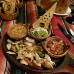 Yummy Supper at the Mexican Restaurant