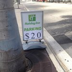 Discrepency in parking price