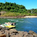 Partida do rafting