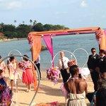 Weeding beach cérémonie