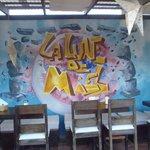 murals at Luna de Miel
