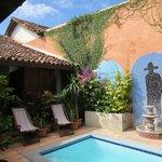 Casa Silas pool area