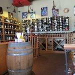 The wine 'cellar'
