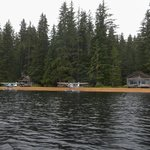 Float Planes at Rest, Thayer Lake Lodge, Admiralty Is. AK.