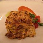 Lasagne!!! Excellent!