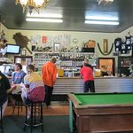 Interior of Whanga Pub