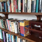 Library corner at Tong Mee House, Hua hin