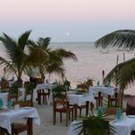 Valentine's dinner on beach
