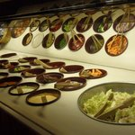 Our fresh salad bar