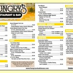 Our menu at a glance