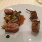 lamb and beef main course