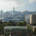 シェラトン香港の部屋からの眺め