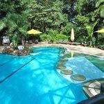piscina molto curata