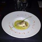 Cabillaud sauce pesto : excellent !