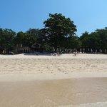Vue depuis la plage