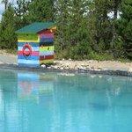 pristine swimming pond