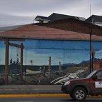 facade peinte près de l'hotel