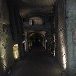 Nei vicoli delle catacombe