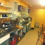 la cucina più piccola