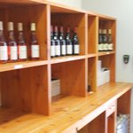The winery tasting room