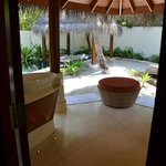 Openair bathroom