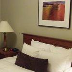 The Junior Suite Queen Bedroom