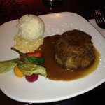 Toffee and Apple steamed pudding  - divine!