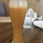 Ginger milk tea
