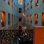 Corridoi interni dell'hotel