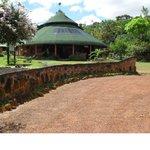 Das ist das Haupthaus im Campamento Yakoo