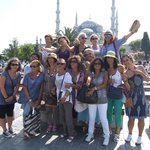 Infront of the Blue Mosque