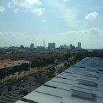 Melaka Central in the Distance