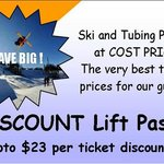 Huge Discounts on Ski and Lift Tickets