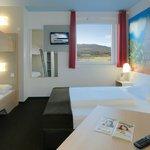 B&B Hotel Freiburg-Süd - Familienzimmer für 4 Personen