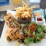 Lunch at the pool grill...sooo good!