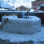 bar à neige