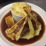 Trio of Local Lamb & Parsnips