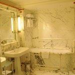 Bathroom of our Junior Suite