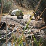 Best tent camping at Patagonia Lake State Park