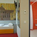 B&B Hotel Wiesbaden - Barrierefreies Zimmer
