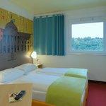 B&B Hotel Wiesbaden - Zweibettzimmer