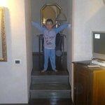 Antibagno della suite Agnesina