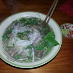 Beef Bo Pho noodle broth